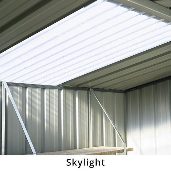 Optional Skylight Roof Sheet